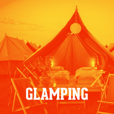 A 3-DAY EXPERIENCE CAMPING RIGHT NEXT TO THE STADIUM IN LUXURY TENTS